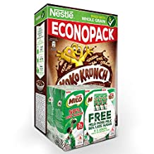 NESTLÉ KOKO KRUNCH Cereal w/ Whole Grain (500g) + FREE MILO 50% Less Sugar (6x200ml),  1.7 kg