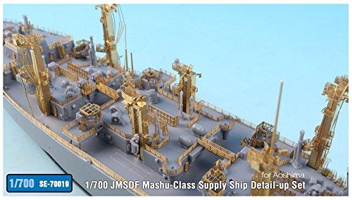 テトラモデルワークス 1/700 SEシリーズ 海上自衛隊 補給艦 ましゅう用 (A社用) プラモデル用パーツ SE7019