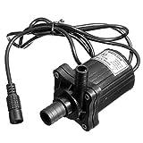 amzmonnsuta 12V500LPH DCブラシレス水中ウォーターポンプモーター ガーデン噴水水中ポンプ(鳥風呂/水槽/小さな池/庭/水循環用)