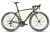 TRINX(トリンクス) 【ロードバイク】超軽量 モデルT700カーボン ULTRA-LIGHT-CARBON 8.9kg デュアルコントロール SHIMANO SORA18S rapid1.0 ブラック/グリーン