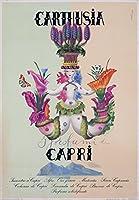 Carthusia Profuni–カプリヴィンテージポスター(アーティスト: Laboccetta )イタリアC。1952 9 x 12 Art Print LANT-58404-9x12
