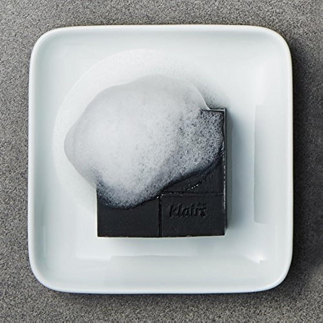 はねかける雪だるま市区町村KLAIRS(クレアズ) ジェントルブラックシュガーチャコール石けん, Gentle Black Sugar Charcol Soap 120g [並行輸入品]