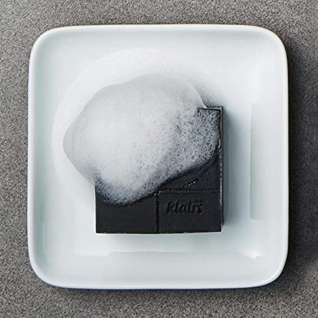 統合硫黄継続中KLAIRS(クレアズ) ジェントルブラックシュガーチャコール石けん, Gentle Black Sugar Charcol Soap 120g [並行輸入品]