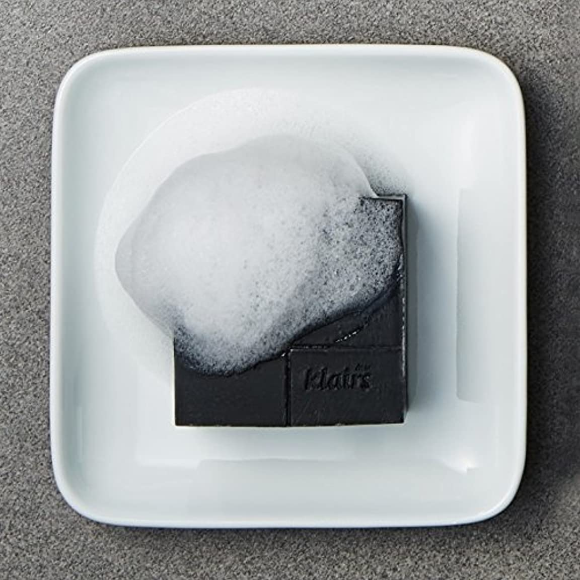 相互ファシズムインフルエンザKLAIRS(クレアズ) ジェントルブラックシュガーチャコール石けん, Gentle Black Sugar Charcol Soap 120g [並行輸入品]