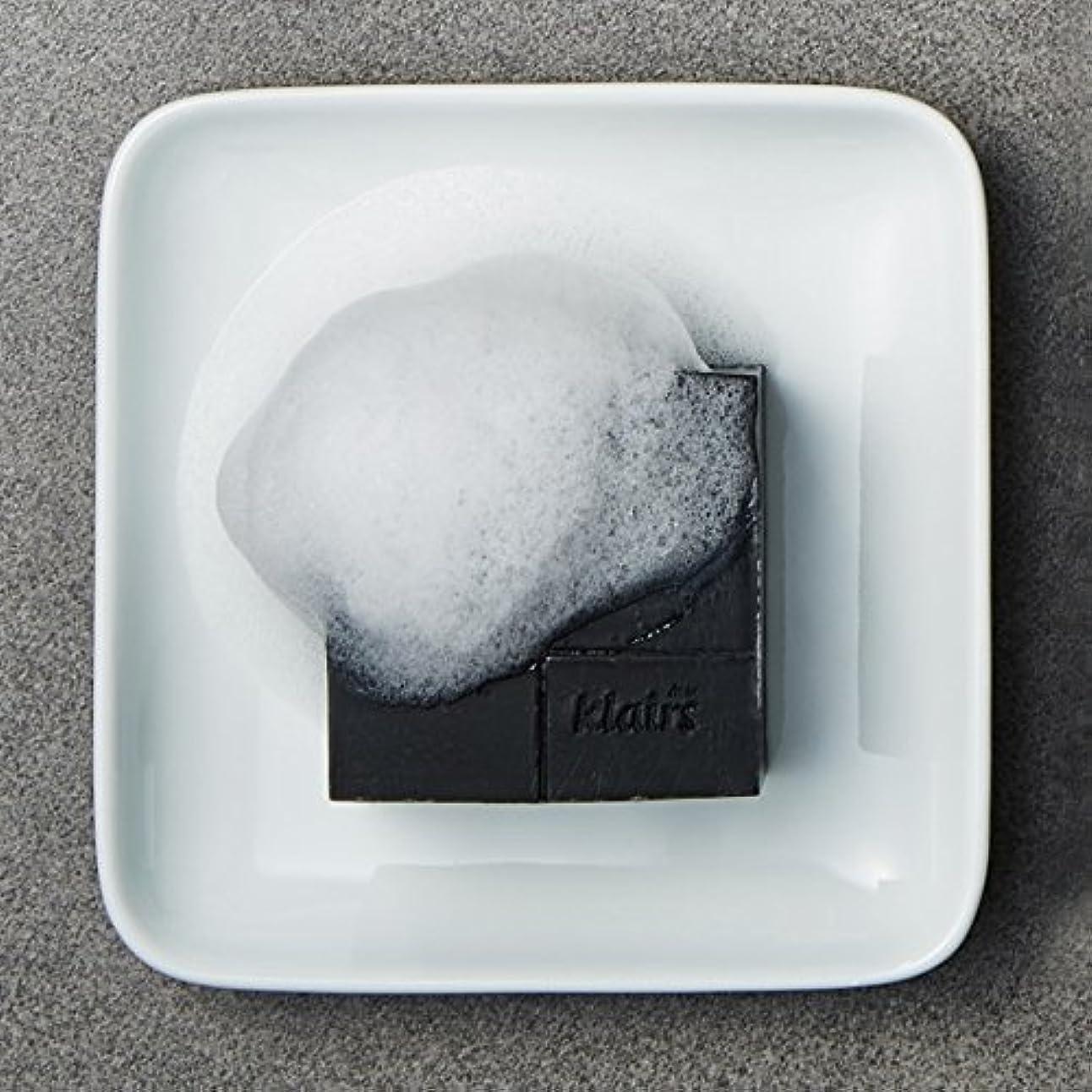 ガイダンス常習者独立KLAIRS(クレアズ) ジェントルブラックシュガーチャコール石けん, Gentle Black Sugar Charcol Soap 120g [並行輸入品]