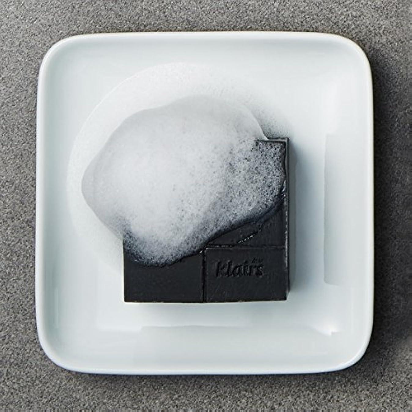 パノラマ追加するおかしいKLAIRS(クレアズ) ジェントルブラックシュガーチャコール石けん, Gentle Black Sugar Charcol Soap 120g [並行輸入品]