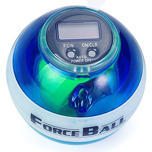 Fivanus パワーボール ローラー 手首腕力筋の強化 フォースボール(force ball)トレーニング 用品 筋トレ 力ボール パワーリストボール
