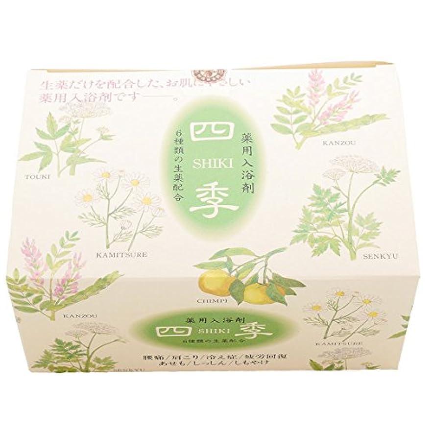 陰謀乗って韓国語薬用入浴剤 四季25g×10包