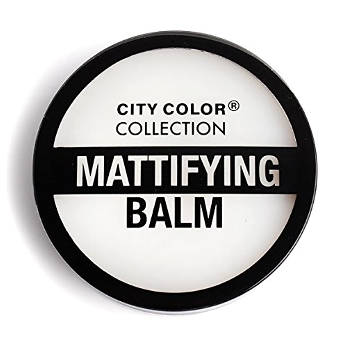 羽鉱夫賛辞CITY COLOR Mattifying Balm Face Primer (並行輸入品)