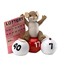 Charming TailsマウスFigurine ( Take A Chance You Just Might Win ) by Enesco