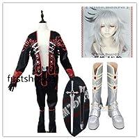Fate/Grand Order ジークフリート コスプレ衣装+武器+靴+ウィッグ