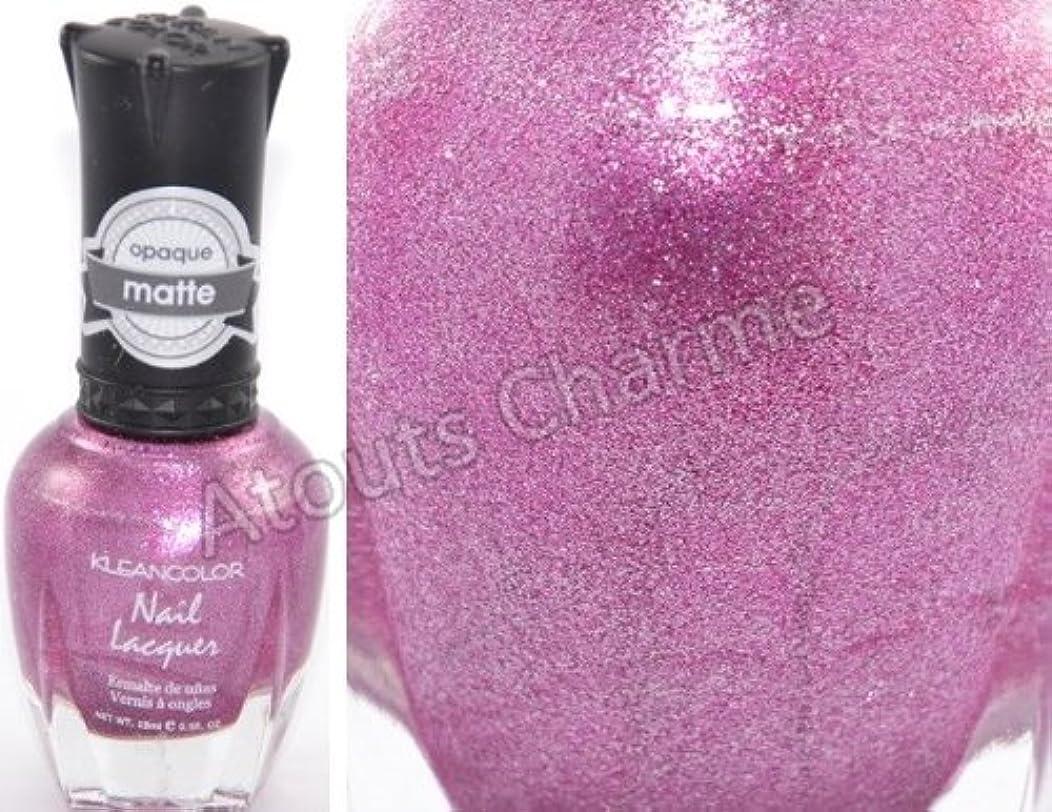 強化柔らかい足浸漬KLEANCOLOR Matte Nail Lacquer - Flower Boutique (並行輸入品)