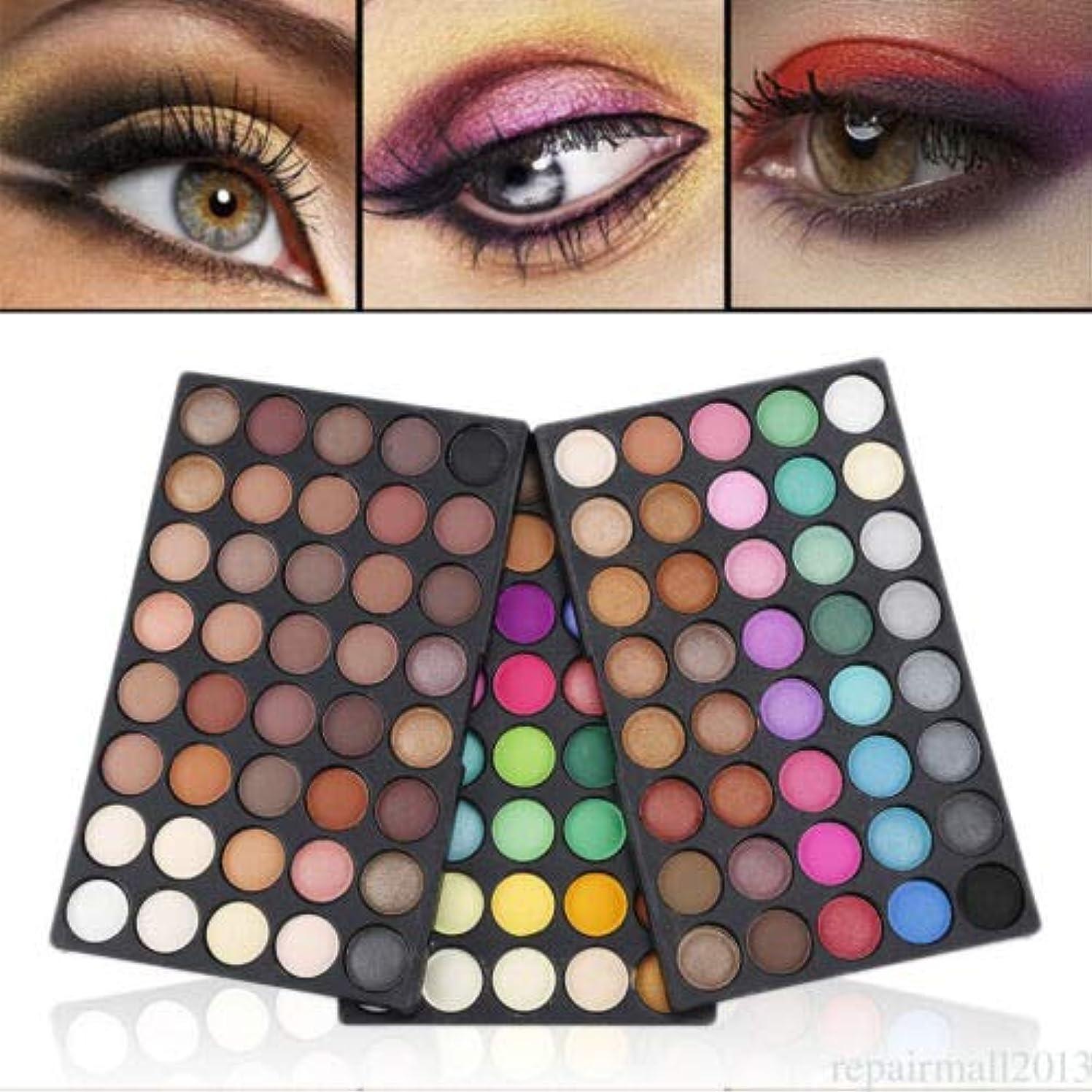 染色目立つセレナFidgetGear 120色アイシャドー化粧品メイクアップシマーマットアイシャドーパレットセットキットKM0