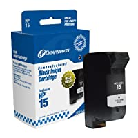 Dataproducts DPC15DN Remanufactured Ink Cartridge Replacement for HP #15 (C6615DN) (Black) by Dataproducts