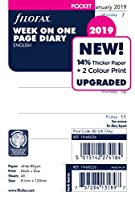 ファイロファックス システム手帳 リフィル 2019年 1月始まり スモール ウィークリー 19-68226 正規輸入品