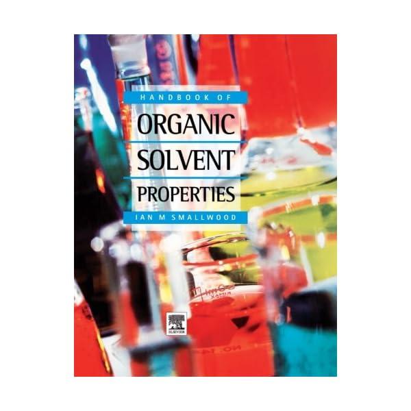 Handbook of Organic Solv...の商品画像