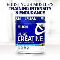 USN Supplements - Unflavored Pureのクレアチンの一水化物の粉 - 17.63ポンド