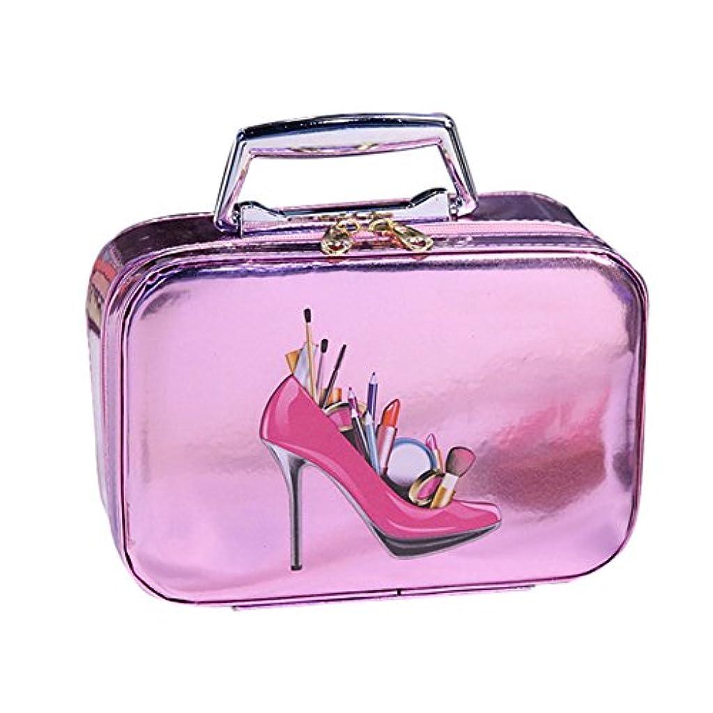 除去立法常習的DRASAWEE(JP) 化粧バッグ メイクボックス コスメポーチ 小物整理 明るい キュート 高級感カラー ニューファション 活躍 ピンク