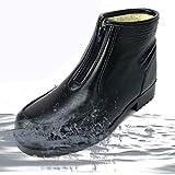 ノーブランド品 55 メンズ 収納式スパイク付き 完全防水 防寒 ブーツ L