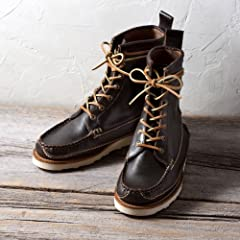 Yuketen Maine Guide Boots: Dark Brown