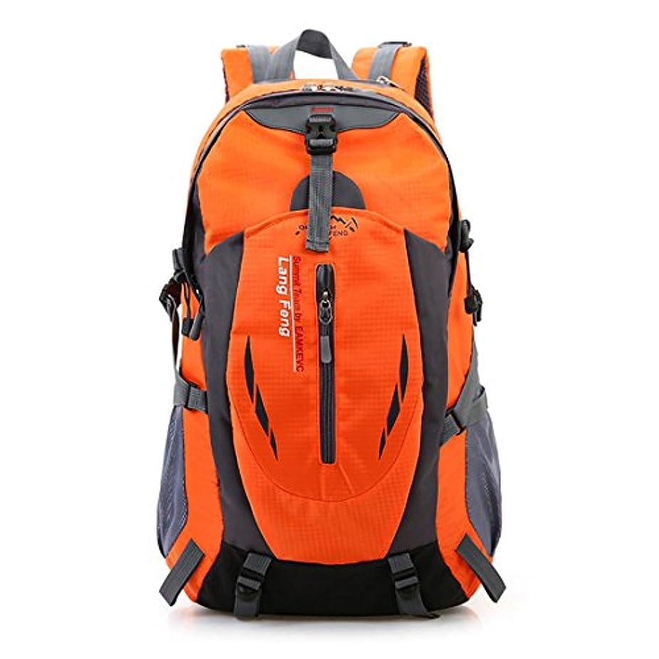 矩形ええ徹底Cidee アウトドア 登山 バックパック, 40L大容量 防水 軽量 多機能 リュック 背中通気スポーツバッグ 男女兼用