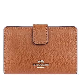 [コーチ] COACH 財布(二つ折り財布) F53436 サドル ラグジュアリー クロスグレーン レザー ミディアム コーナー ジップ ウォレット レディース [アウトレット品] [ブランド] [並行輸入品]