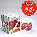 コカ・コーラ×Fire‐King(ファイヤーキング) スタッキングマグ 1951s soda fountain