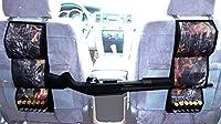 酸Tactical Car / Truck Seat Back Shotgun Rifleキャリアホルダー3ガンマウント( Realオークリーフ)