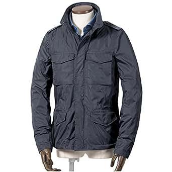 アスペジ ASPESI / 高密度ナイロンタフタM-65ジャケット『MINIFIELD VENTO』 (ネイビー) メンズ L