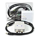 Wiysond MDSO PC USB オシロスコープ データレコーダ機能付き キット バーチャル アナログ オシロスコープ 帯域幅20MHz サンプリングレート 48MSa/s 二つプローブ付き
