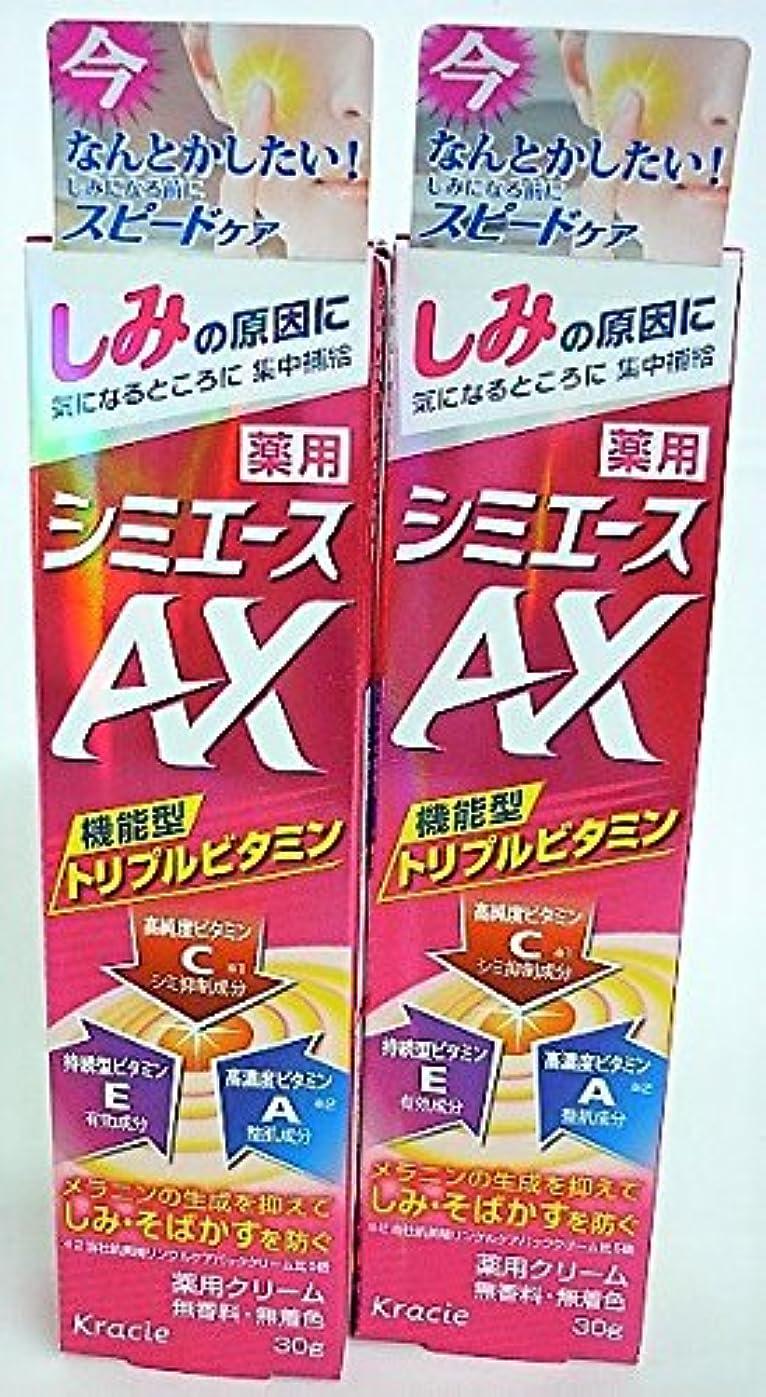 休眠レール内部[2個セット]薬用 シミエースAX 30g入り×2個