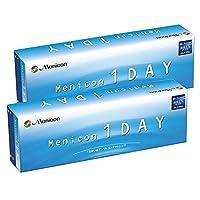 メニコン1DAY 【BC】8.6【PWR】-1.75 30枚入 2箱