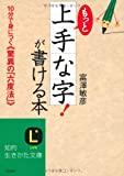 もっと「上手な字!」が書ける本 (知的生きかた文庫)