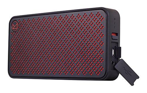 Fenda 薄型Bluetooth4.0スピーカー マイクロSDカード挿入可能ポータブルスピーカー【5Wデュアルドライバー/NFC対応/マイク内臓/SDカード挿入可能】ブラック