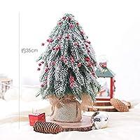 Infabe テーブルトップ ミニ クリスマスツリー 35㎝ クリスマステーブル 飾り