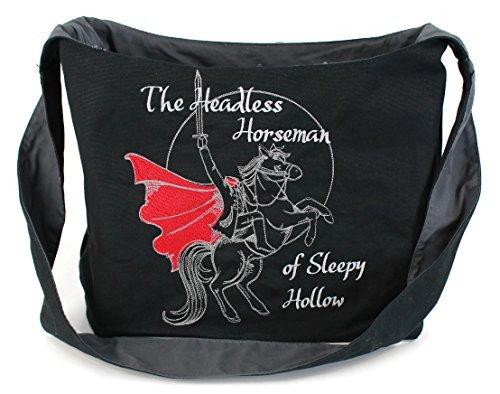 Dancing Participle Sleepy Hollow刺繍スリングバッグ