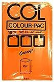 日本技研 カラーパック45L オレンジ 10枚 KP-15