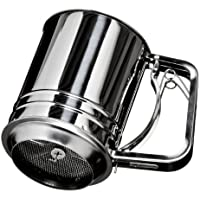 Premier Housewares Mechanical Flour Sifter, Stainless Steel by Premier Housewares
