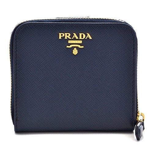 PRADA(プラダ) 財布 サフィアーノ レディース 二つ折り財布 1ML522 QWA 216 [並行輸入品]