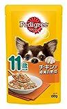 ペディグリー シニア犬 11歳から用 チキン&緑黄色野菜 130g×10個入り [ドッグフード・パウチ]