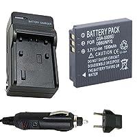 バッテリーと充電器for Panasonic cga-s005、cga-s005e、dmw-bcc12Li - Ion充電式バッテリー