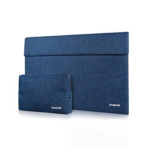 Inateck 15インチラップトップスリーブケース(15 Inch New MacBook Pro 2016/2017/2018(モテル A1707/A1990)/15 Inch MacBook Pro 2017/15 Inch MacBook Pro Retina(A1417/A1398)/ウルトラブック/ネットブック用 プロテクターケース- ブルー)