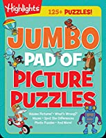 Jumbo Pad of Picture Puzzles (Highlights(TM) Jumbo Books & Pads)