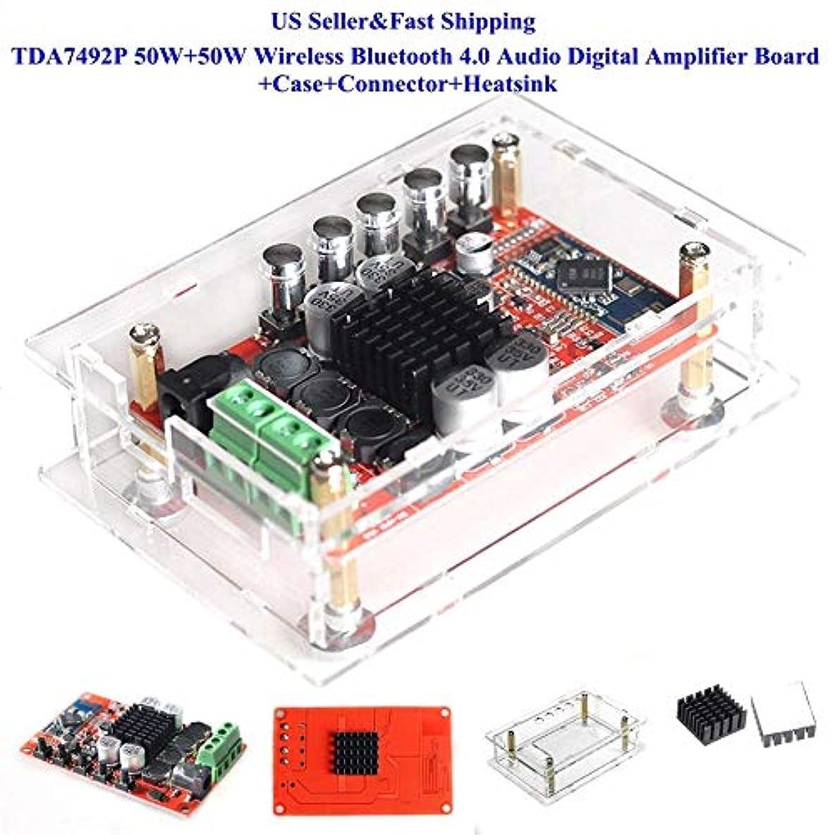 インチスポンサーペットプロフェッショナルTDA7492P 50W + 50Wワイヤレス4.0オーディオ?デジタル?アンプ