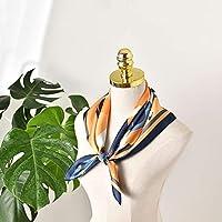 小さい正方形のタオルのマットのサテン、絹の滑走の感じの柔らかい適度な装飾的なデジタル印刷