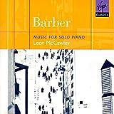Barber;Music for Solo Piano