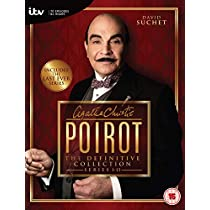 Poirot The Definitive Collection Series1-13 [DVD] [Import]