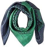 [ビームス デザイン] スカーフ シルク グリーン レディース 50606503C 日本 64cm×64cm (FREE サイズ)
