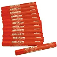 Dixon 52000 Lumber Marking Crayons, Red, 12-Pack by Dixon Valve & Coupling [並行輸入品]