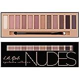 (3 Pack) LA GIRL Beauty Brick Eyeshadow Collection - Nudes (並行輸入品)